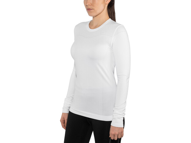 Craft Fuseknit Comfort T-shirt manches longues à col rond Femme, white